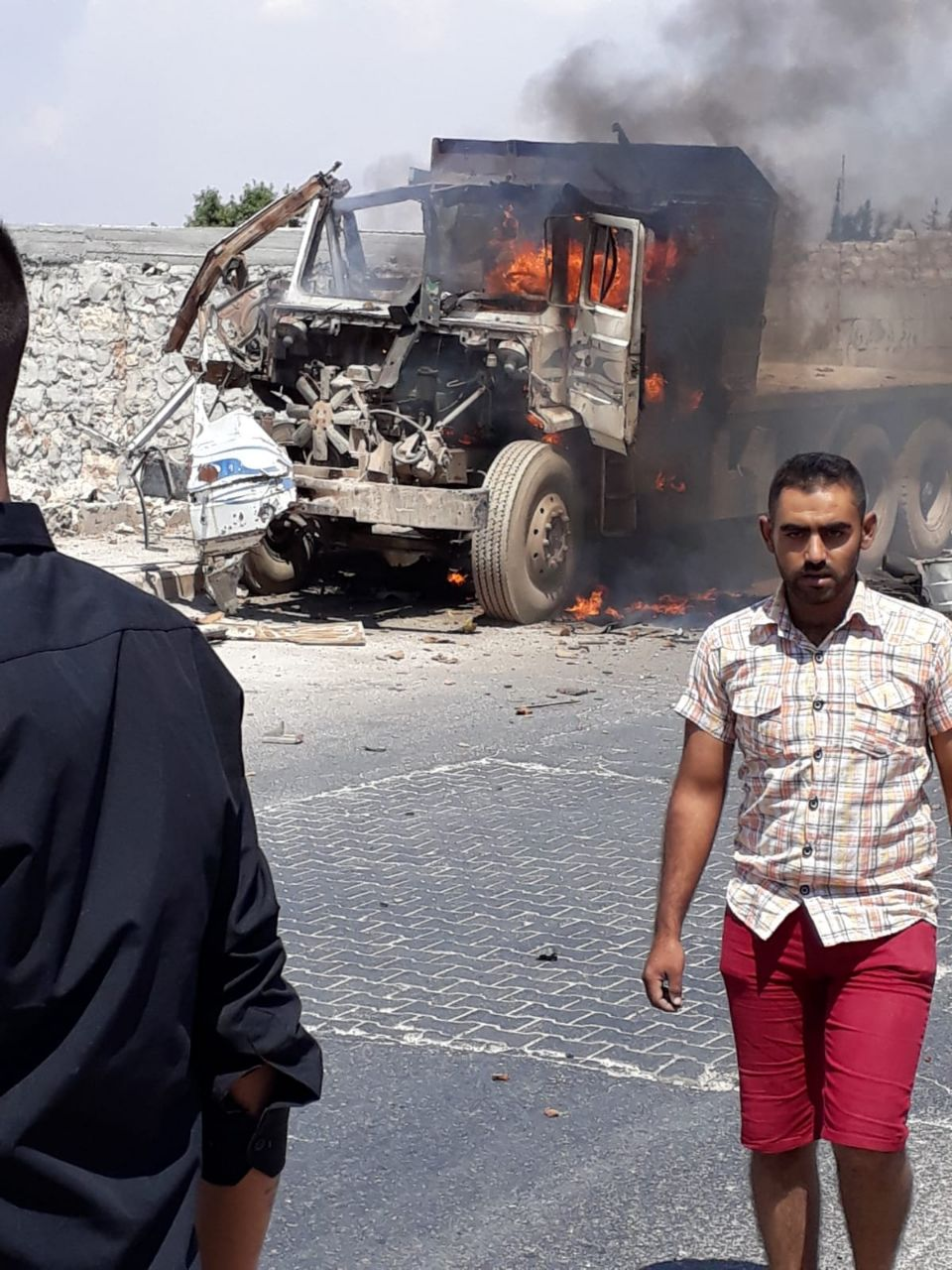 جرحى في عبوة ناسفة بسيارة في ريف حلب
