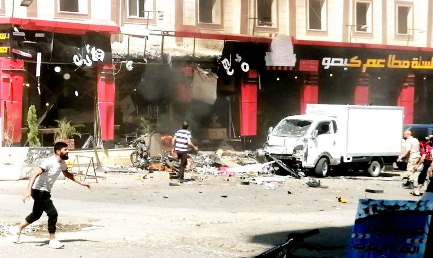مقتل طفل وجرحى في انفجار دراجة مفخخة في مدينة عفرين
