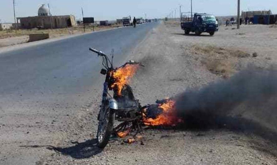 انفجار دراجة نارية جنوب الحسكة