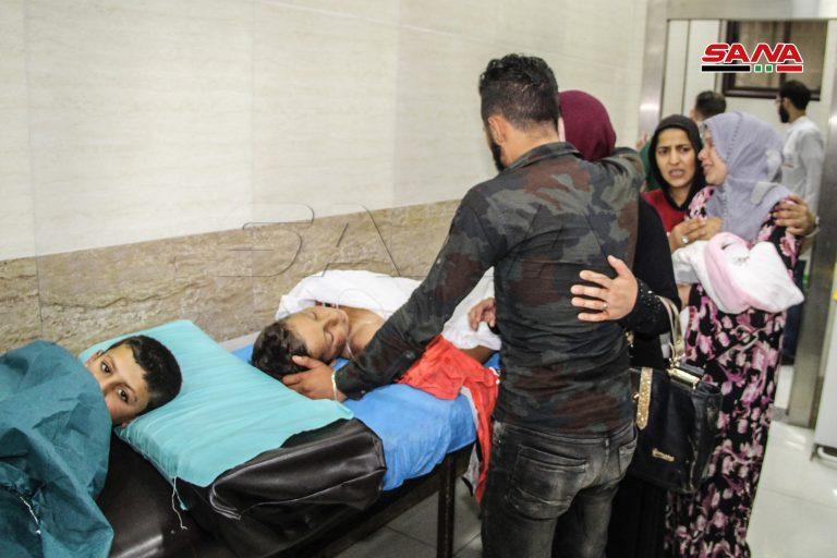 15 ضحية سقوط قذائف على أحياء سكنية في حلب مصدرها مناطق خاضعة لتركيا شمال سوريا
