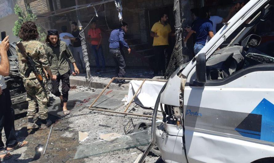 جرحى في انفجار دراجة نارية مفخخة وسط مدينة اعزاز شمال سوريا