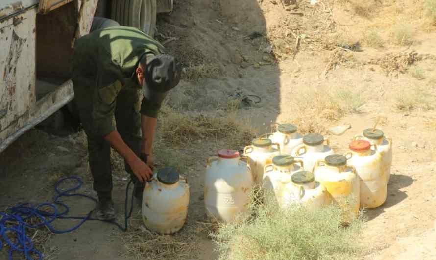 قوات سوريا الديمقراطية تحبط عملية تفجير صهريج مفخخ بنصف طن من مادة السيفور