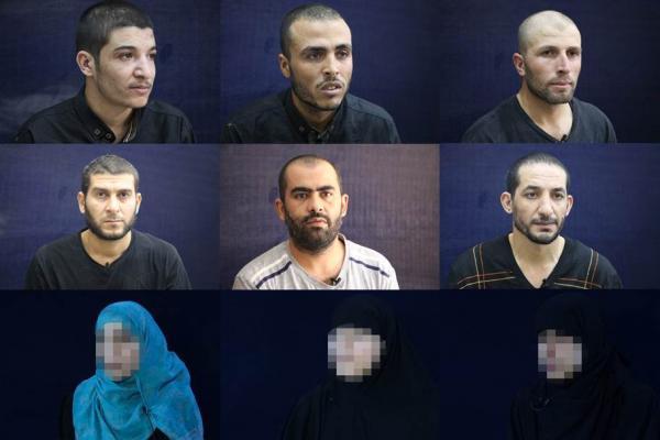 فيديو: اعتقال خلية لتنظيم الدولة الاسلامية مؤلفة من 18 شخصا بينهم 7 نساء