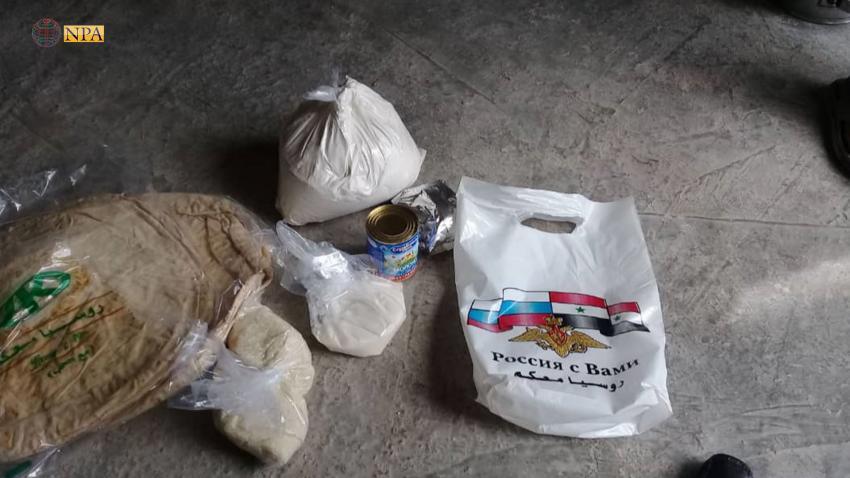 اتهامات لروسيا بتوزيع مواد منتهية الصلاحية على النازحين في ريف حلب الشمالي