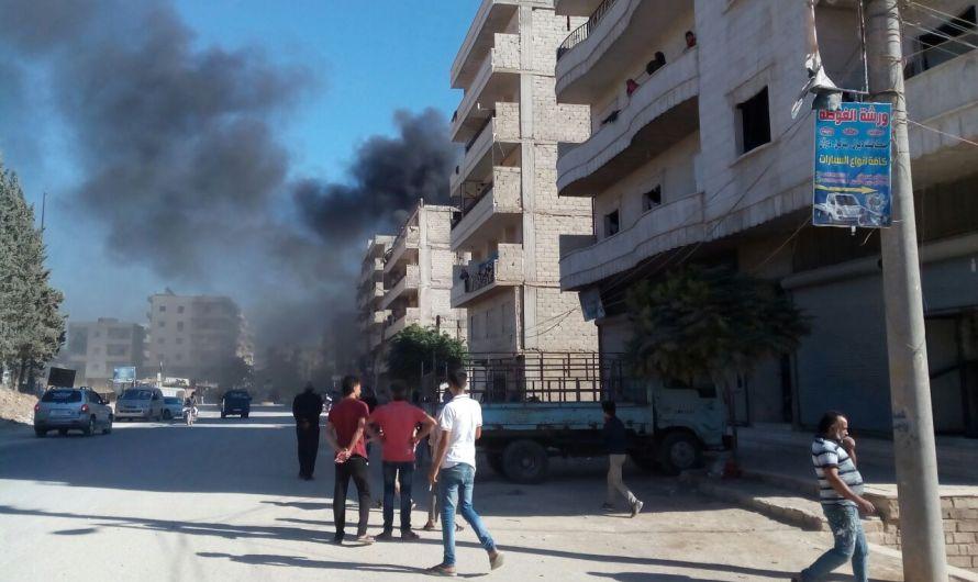 دوي انفجار يهز مدينة عفرين السورية
