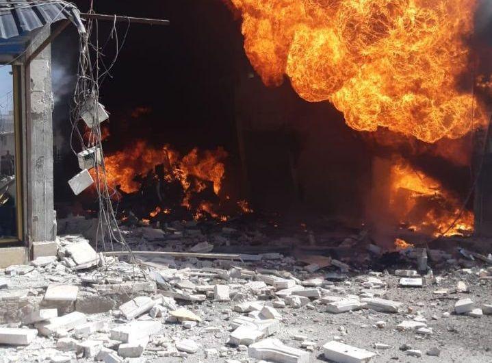 قتلى وجرحى في انفجار سيارة ملغمة بمدينة عفرين
