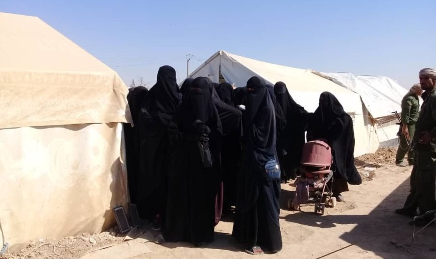 مقتل امرأة من داعش في مخيم الهول