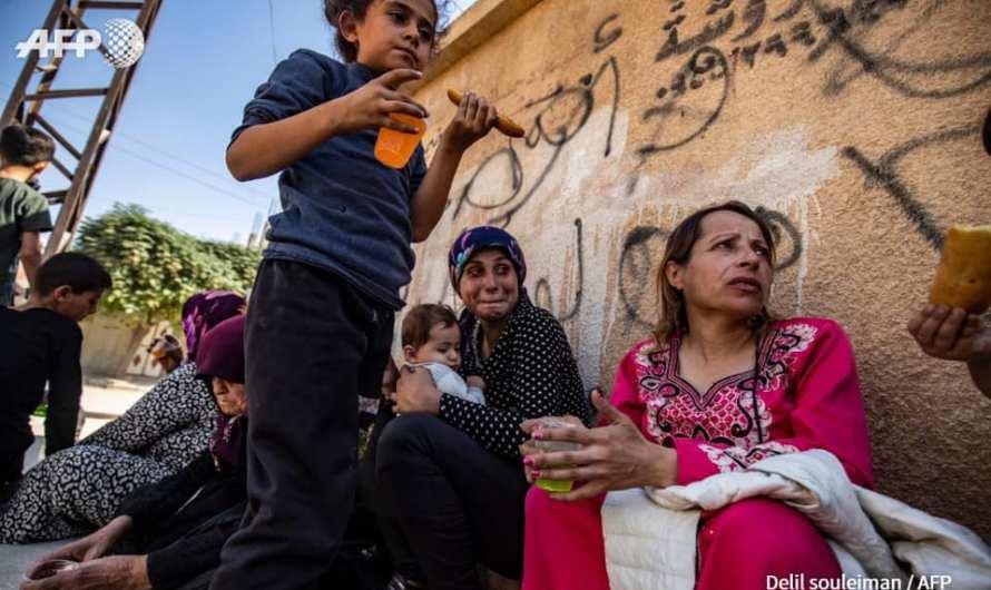 حصيلة يومين: استشهاد 11 مدنيا وإصابة 55 بجروح ونزوح 100 ألف من السكان