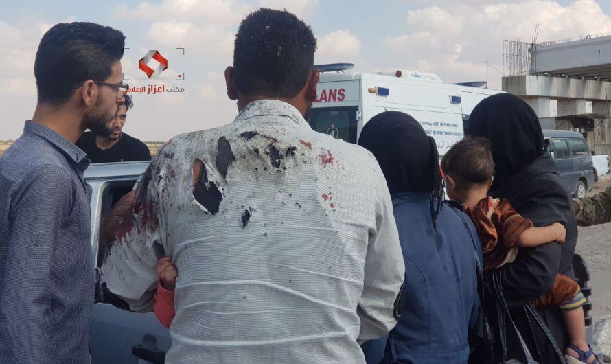 انتحاري يفجر نفسه بنقطة عسكرية في مدينة اعزاز