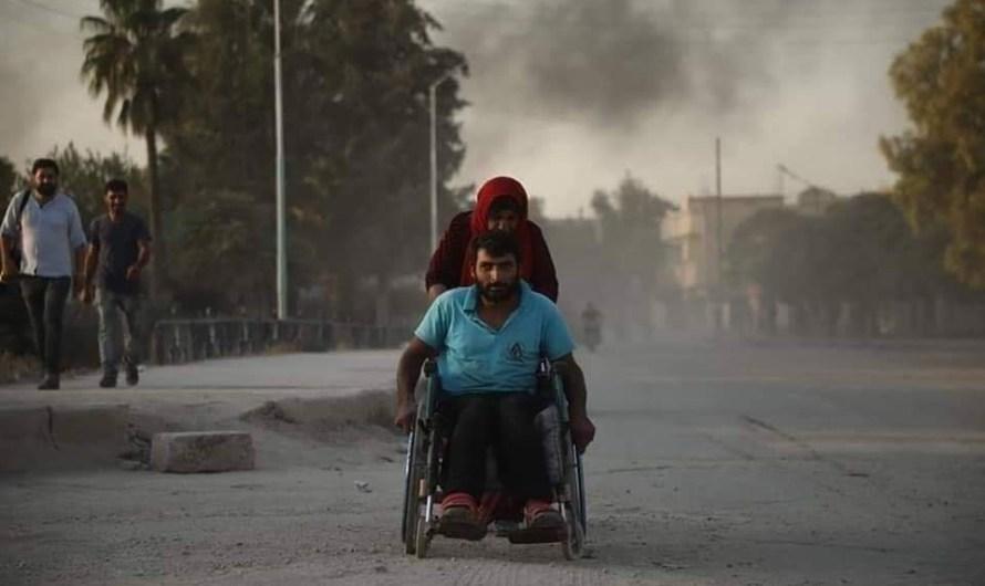 توثيق أسماء الضحايا في اليوم الثاني من الهجوم التركي شرق الفرات