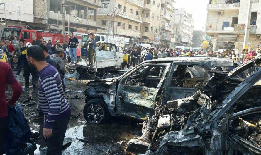 مجلس الباب العسكري: مقتل 11 في تفجير نفذه مسلحون موالون لتركيا بمدينة الباب السورية