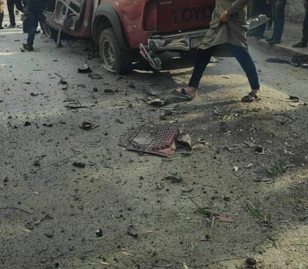انفجار في اعزاز السورية يخلف قتلى وجرحى