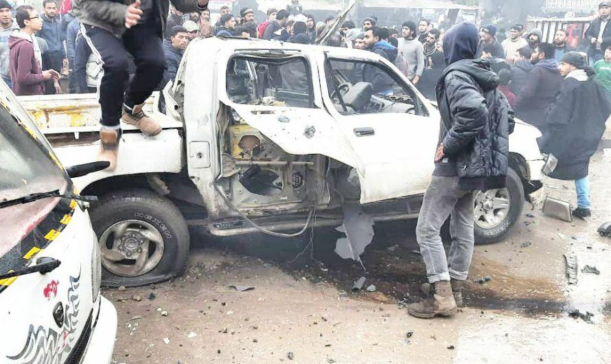 انفجاران في جرابلس وعين عروس….القوات التركية تفشل مُجدّداً في توفير الحماية للمدنيين في شمال سوريا