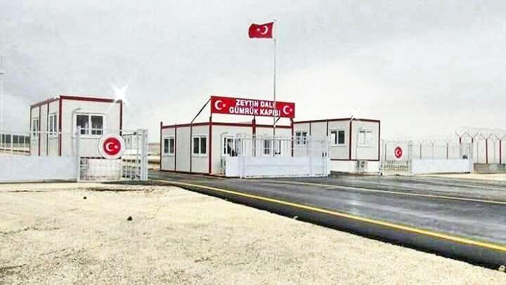 تركيا تفتتح معبرا خاصا مع عفرين من أجل نقل زيت الزيتون الذي تسرقه من السوريين