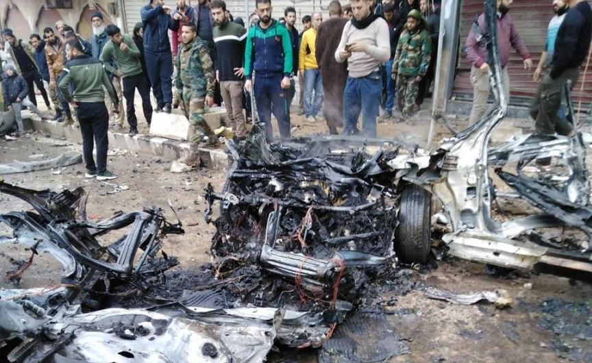 انفجار في عفرين….القوات التركية تفشل مُجدّداً في توفير الحماية للمدنيين في شمال سوريا