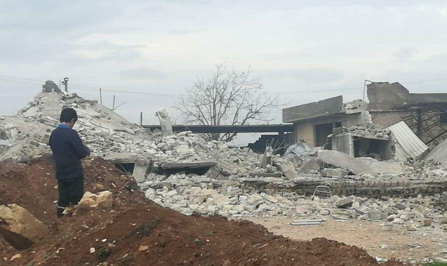 ضربة جوية تدمر سجنا يضم معتقلي داعش في منطقة خاضعة لتركيا شمال سوريا