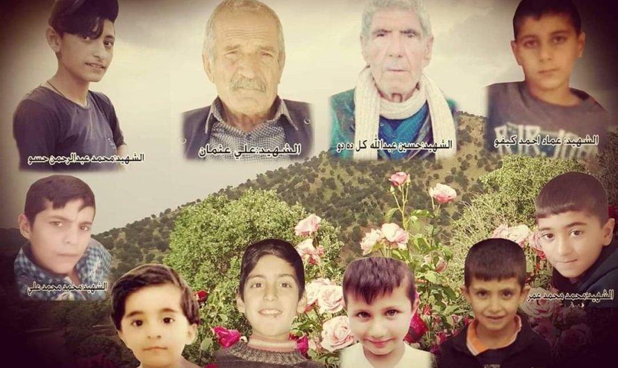 جماعة مسلحة مدعومة من تركيا تقتل 8 أطفال ومسنين أثنين في قصف مدفعي استهدف بلدة تل رفعت