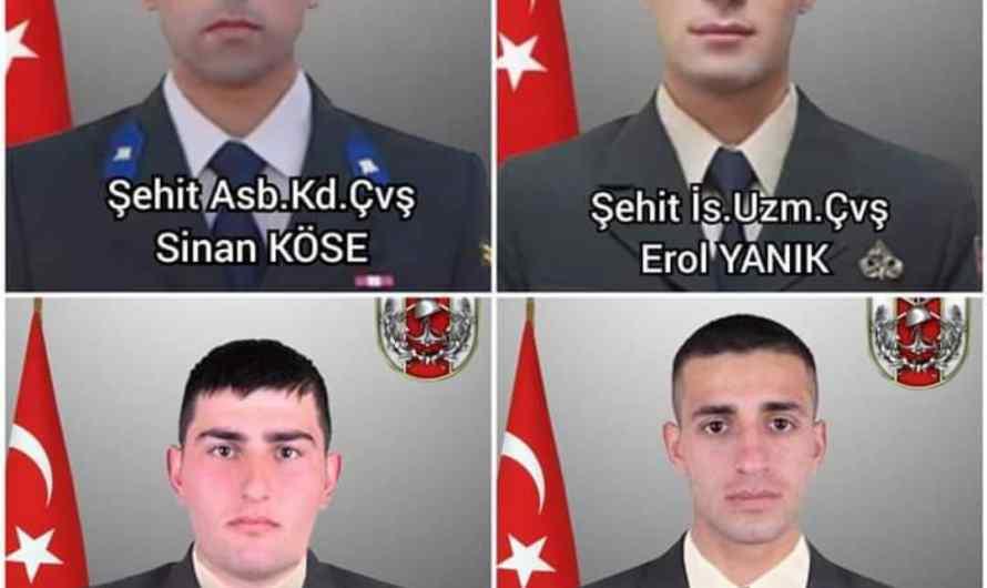 مقتل 4 جنود اتراك بانفجار سيارة مفخخة قرب حاجز عسكري بريف رأس العين