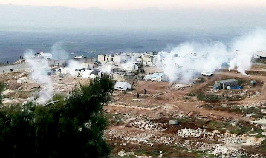 اطلاق رصاص حي وغازات مسيلة على المتظاهرين قرب الحدود التركية