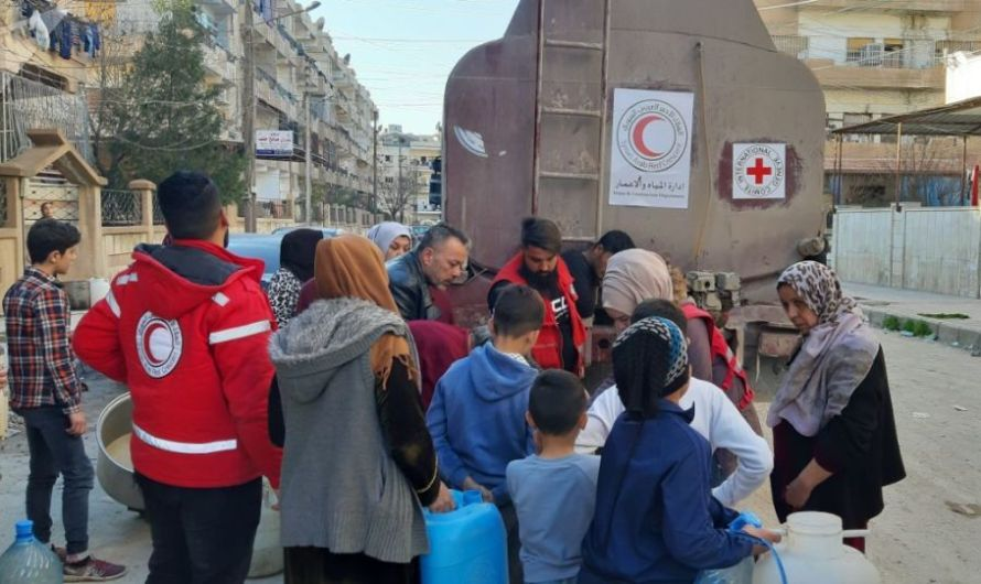 مليون سوري يناضلون ضد العطش جراء قيام تركيا بقطع المياه