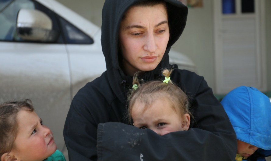 أكثر من 300 عائلة روسية من داعش في مخيم الهول وهذه مطالبهم