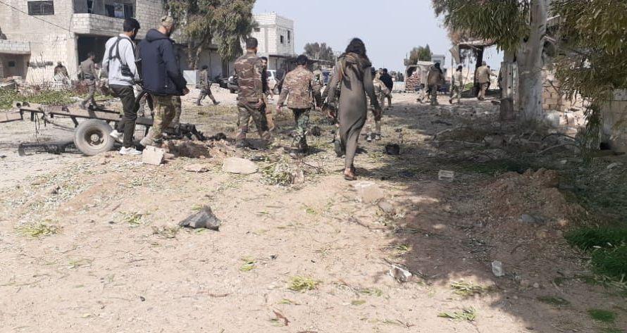 قتلى في انفجار استهدف حاجزا للجيش الوطني بريف براس العين