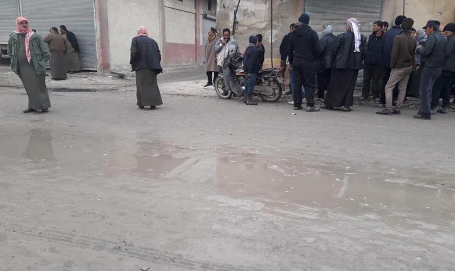 الجيش الوطني المدعوم من تركيا يقتحم قرية في ريف حلب ويعتقل ويعتدي على سكانها