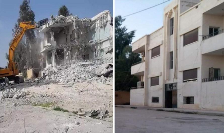 الفصائل الموالية لتركيا تهدم العشرات من منازل المدنيين في تل أبيض ورأس العين بهدف المعاقبة