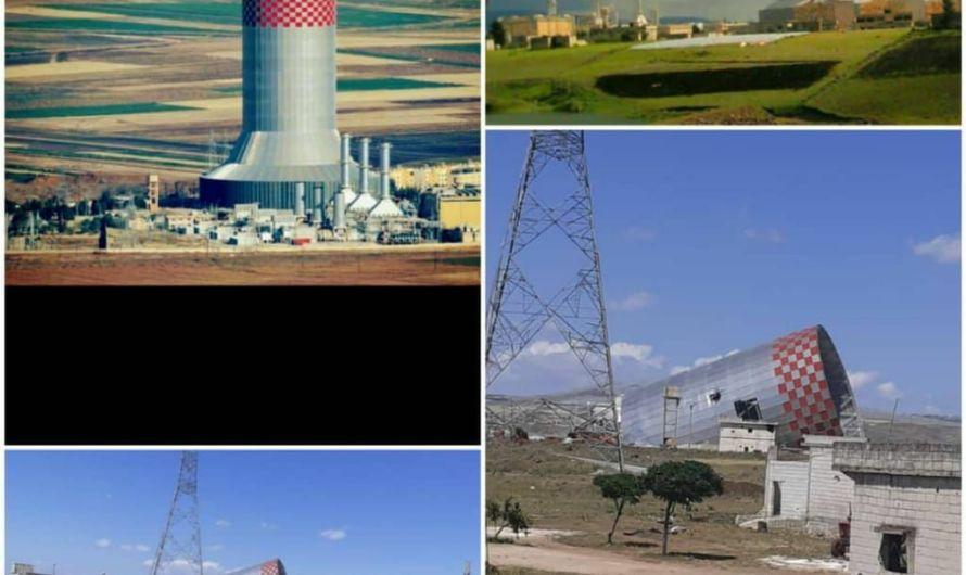 """""""التركستاني"""" يسقط برج التبريد الأخير لمحطة زيزون بحماة لبيعه"""