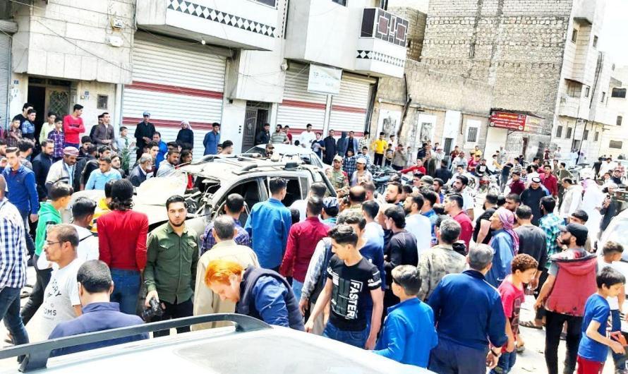 قتلى واصابات في انفجارين بمدينتي الباب وإعزاز بريف حلب