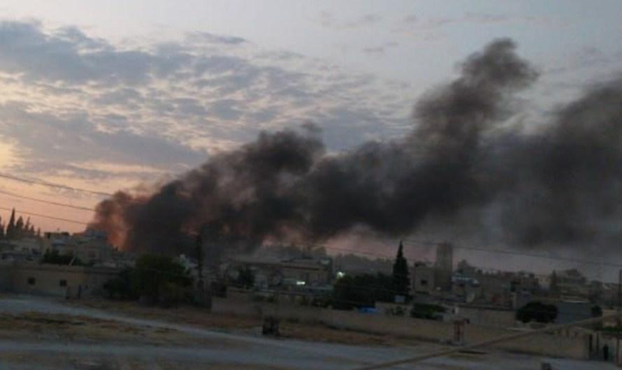 ضحايا في انفجار سيارة مفخخة في مدينة تل أبيض شمال الرقة