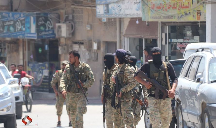 تجدد المواجهات المسلحة بين الفصائل الموالية لتركيا في مدينتي جرابلس وعفرين ومدينة تل أبيض