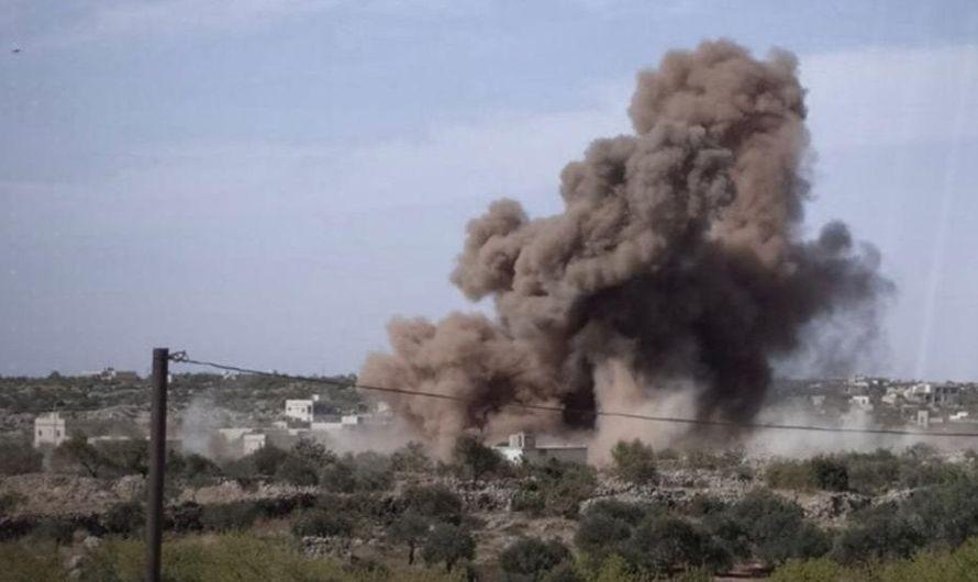 الجيش السوري يدمر واحدة من أهم القواعد العسكرية التركية في مورك بعد انسحاب الأتراك منها