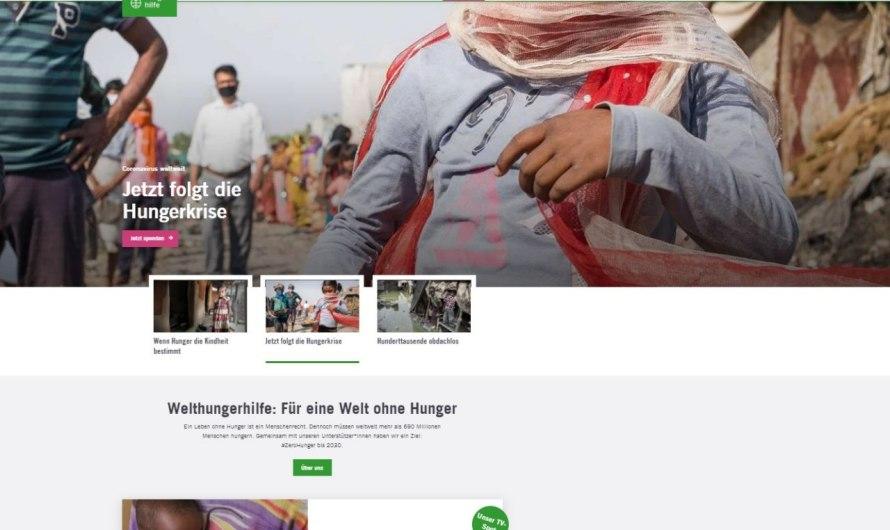 رسالة احتجاج إلى منظمة Deutsche Welthungerhilfe e.V
