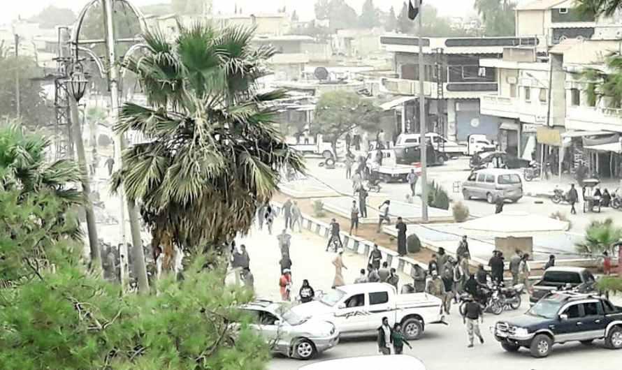 انفجار في بلدة رأس العين …إصابات في انفجار عبوة ناسفة وسط سوق شعبي