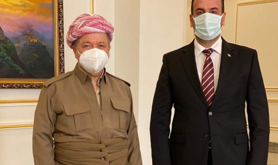 منظمات سورية تندد باستقبال مسؤولين في إقليم كردستان رئيس وأعضاء الائتلاف المتهمين بارتكاب جرائم حرب وجرائم ضد الإنسانية