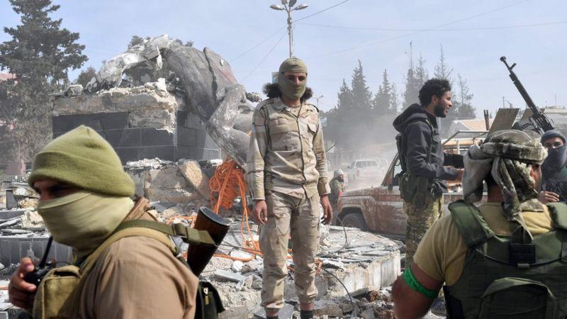 ألمانيا تحظر منظمة إسلامية كانت تجمع أموالا لصالح جماعات مسلحة متطرفة شمال سوريا