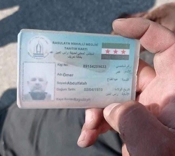 مقتل قيادي داعشي في منطقة رأس العين بقصف من طائرة مسيرة شمالي سورية