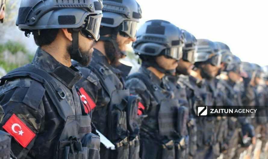 الشرطة العسكرية تعتقل 7 أشخاص بينهم نساء في ريف تل ابيض