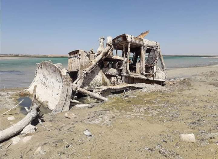 تركيا تخنق السوريين …. نهر الفرات يلفظ أنفاسه