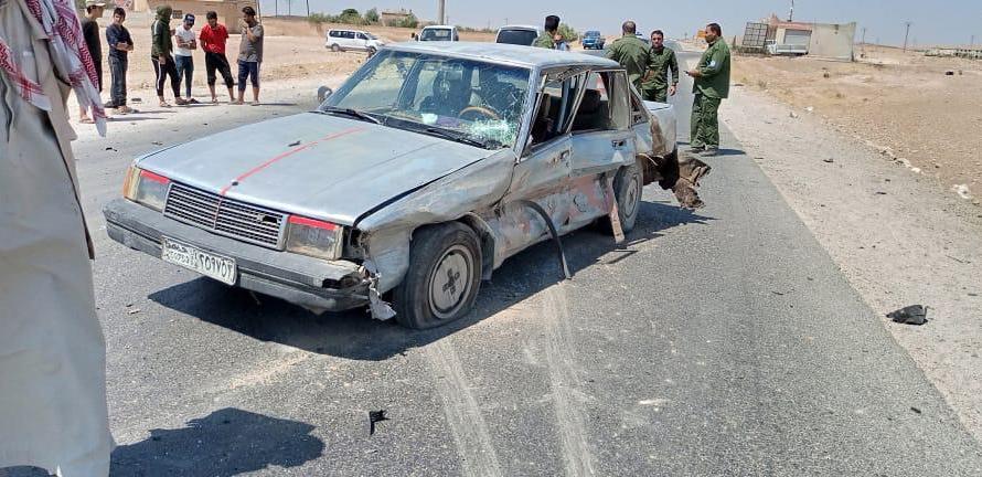 قصف تركي بطائرة مسيرة يستهدف سيارة في ريف كوباني الجنوبي