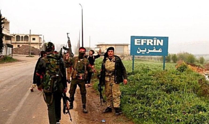 اعتقال 29 شخصاً في عفرين منذ بداية شهر تشرين الأول 2021 من قبل الجيش الوطني المدعوم تركياً