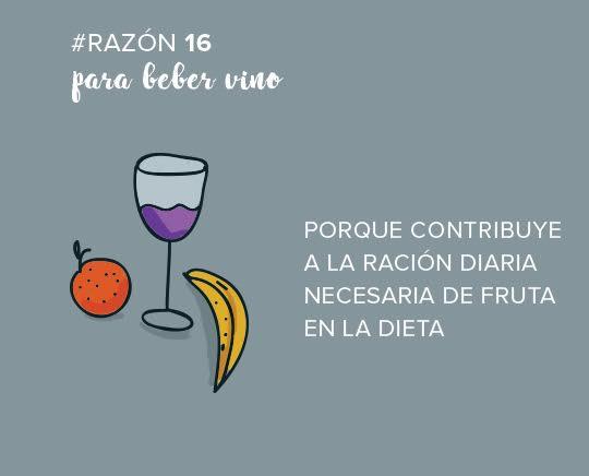 razones para beber vino
