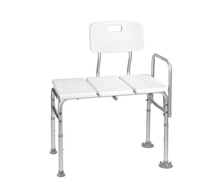 details sur ridder banc de transfert pour baignoire blanc baignoire aide salle de bain