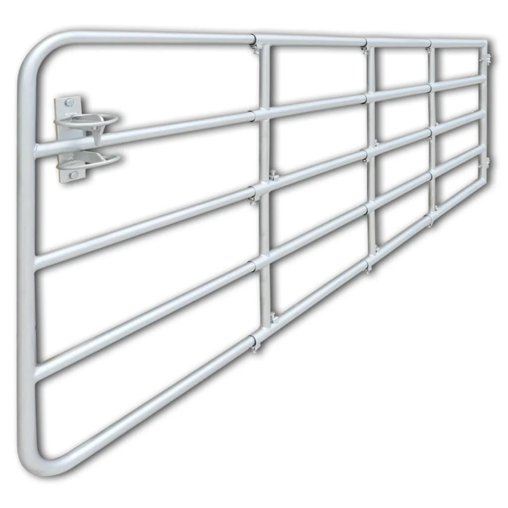 5 Bar Self Locking Field Gate Galvanised Metal Farm