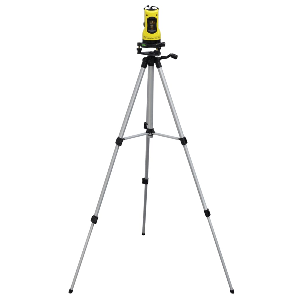 Self Leveling Cross Line Laser Kit With Tripod