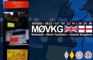 M0VKG QSL card