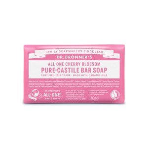 CHERRY BLOSSOM SCENTED - săpun pur - Dr. Bronner's