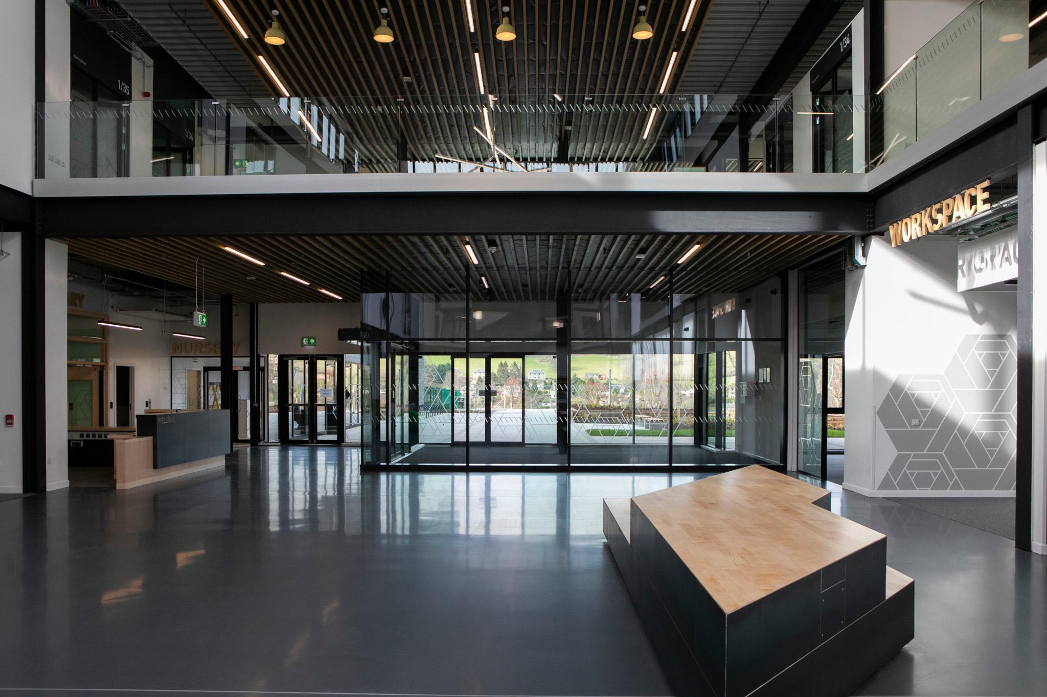 Vebro Polymers vebrores PU SL HD at Jedburgh Grammar Campus