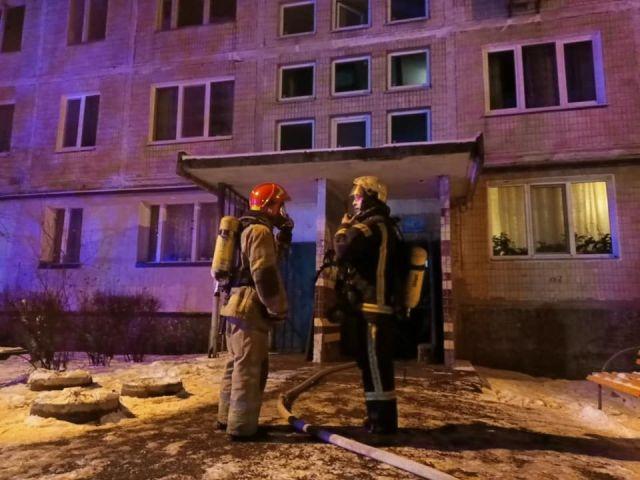Новобіличі, Пожежа, Святошинський район, вулиця Генерала Наумова
